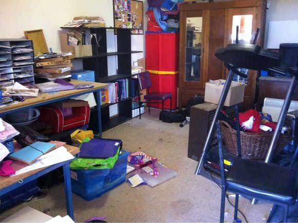 My scrap room needs sorting ..